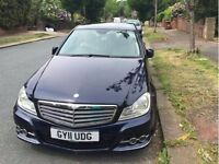 Great deal Beautiful Mercedes-Benz C Class 2.1 C200 CDI Blue in excellent condition