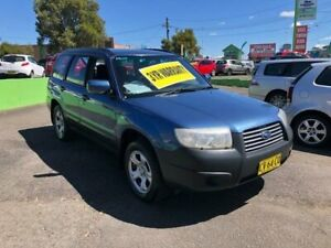 2007 Subaru Forester 79V MY07 X AWD Blue 4 Speed Automatic Wagon Lidcombe Auburn Area Preview