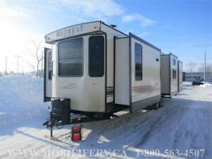 *2018 KEYSTONE RETREAT 391MBNK PARK MODEL FOR SALE*LUXURY PKG*