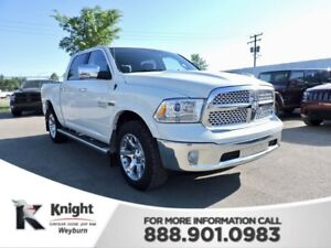 2016 Ram 1500 Laramie Heated/Cooled Leather NAV Back-Up Cam Remo