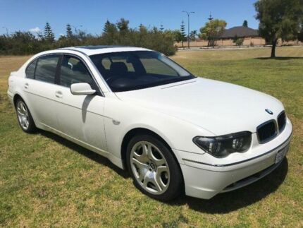 2003 BMW 745Li E66 Steptronic White 6 Speed Sports Automatic Sedan