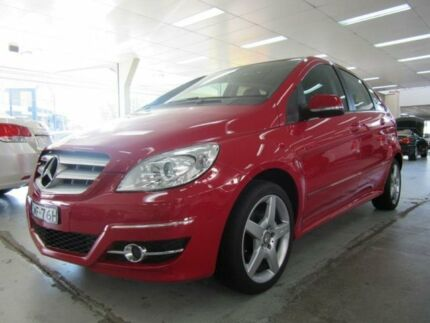2011 Mercedes-Benz B180 245 MY11 CDI Red 0 Speed Continuous Variable Hatchback Fyshwick South Canberra Preview