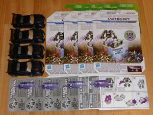 TRANSFORMERS PRIME CYBERVERSE VEHICON LOT MWC