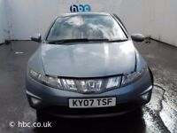 HONDA CIVIC TYPE S 1.8 XENON LIGTHS 2006-2010 BREAKING FOR SPARES TEL 07814971951 HAVE FEW IN STOCK