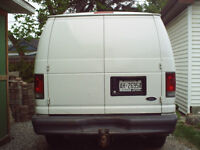 2007 Ford E-Series Van Commercial Minivan, Van