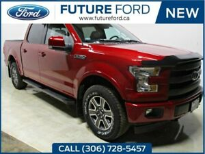2017 Ford F-150 Lariat-SPORT PACKAGE-SPRAY IN LINER-FX4