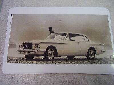1962 PLYMOUTH VALIANT HARDTOP   11 X 17  PHOTO /  PICTURE for sale  Shipping to Canada