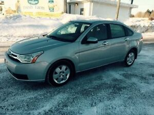 E-Tested AND Safety Certified 2008 Ford Focus SE Sedan 92k km