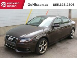 2012 Audi A4 PREMIUM LEATHER AUTO QUATTRO AWD