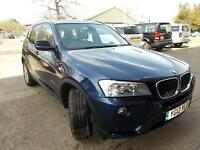 BMW X3 2.0TD ( 184bhp ) Auto 2012MY xDrive20d SE