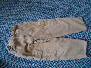 Boys Size 6 Brown Cords
