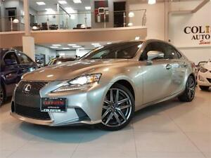 2014 Lexus IS 350 F SPORT-RED LEATHER-LOADED