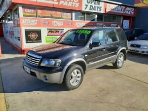 2006 Ford Escape ZC XLT Black 4 Speed Automatic Wagon Somerton Park Holdfast Bay Preview