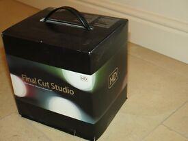 Apple Final Cut Studio software - complete