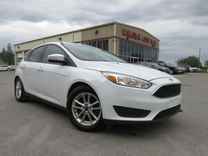 2016 Ford Focus SE, HTD. SEATS, A/C, BT, CAMERA, 31K!