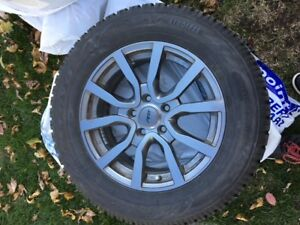 Winter tires and mags TOYO GSI 5  215/65R/16 used 4 months