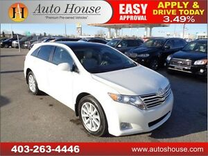 2011 TOYOTA VENZA BACKUP CAMERA SUNROOF 90 DAYS NO PAYMENT!