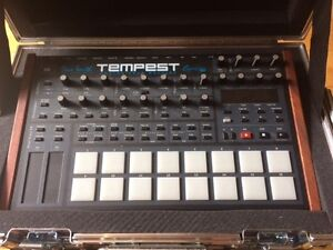 Dave Smith Tempest with Custom Made Pro Travel Case