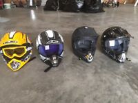 ATV, Snowmobile, dirt bike Helmets