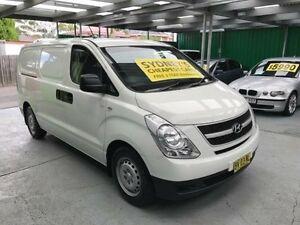 2010 Hyundai iLOAD TQ-V White 5 Speed Automatic Van Five Dock Canada Bay Area Preview