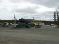 for rent shop or storage on 80 acres in porcupine on hallnore rd