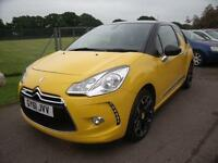 CITROEN DS3 E-HDI DSTYLE PLUS- ROAD TAX EXEMPT, Yellow, Manual, Diesel, 2011