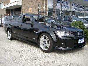 2009 Holden Commodore VE MY10 SS Black 6 Speed Automatic Utility Wangara Wanneroo Area Preview
