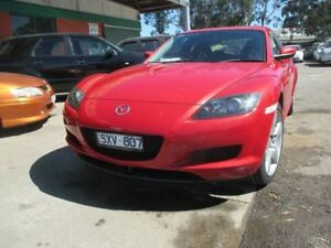 2004 Mazda RX-8 1 FE Red 4 Speed Auto Sportshift Coupe