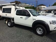2008 Ford Ranger PJ 07 Upgrade XL (4x4) White 5 Speed Manual Super Cab Chassis Newcastle 2300 Newcastle Area Preview