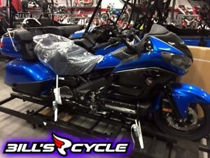 2017 HONDA On Road GL 1800 ALH   GoldWing Special Edition Blue M