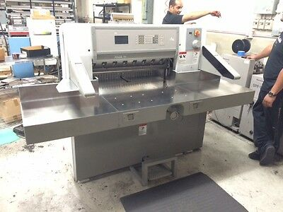 Polar Model 78 Es 30.7 Programmable Paper Cutter With Air Table Challenge