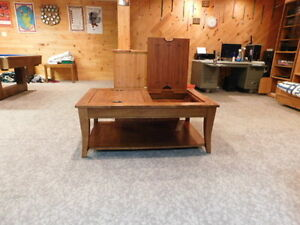 Beautiful Hardwood Coffee Table for Sale!!!--Now reduced price!!