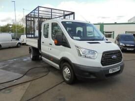 Ford Transit 350 L3 DOUBLE CAB CAGED TIPPER 125PS EURO 5 DIESEL MANUAL (2016)
