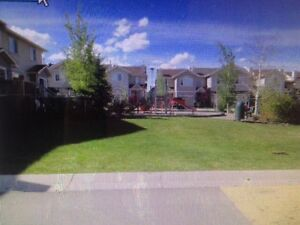 Chestermere Four Bedroom Townhouse with Attached Garage