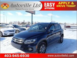 2012 Volkswagen Tiguan TSI 4Motion Leather Sunroof Bluetooth