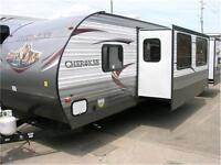 2015 CHEROKEE 294 BUNKHOUSE- 1 ONLY AT THIS PRICE! MYRV