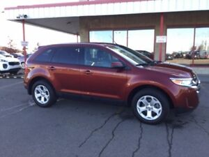 2014 Ford Edge AWD SEL Leather,  Heated Seats,  Back-up Cam,  Bl