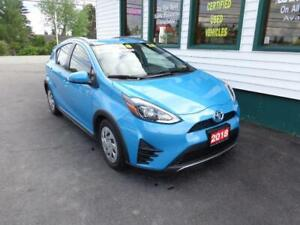 2018 Toyota Prius C for only $179 bi-weekly all in!