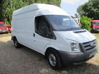 Ford Transit 2.4TDCi 350 LWB NO VAT 2 OWNERS 56 REG CHEAP ROAD TAX MODEL