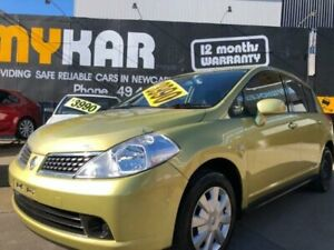 2008 Nissan Tiida C11 MY07 ST Gold 6 Speed Manual Hatchback Islington Newcastle Area Preview