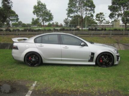 2007 Holden Special Vehicles GTS E Series Silver 6 Speed Manual Sedan