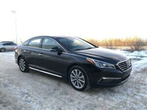 2017 Hyundai Sonata Limited- Navigation, Leather, Heated Seats