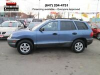 2003 Hyundai Santa Fe 4WD! PERFECT FAMILY SUV!