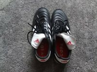Adidas Men's Size 9.5 Copa Black Leather Astro Trainers