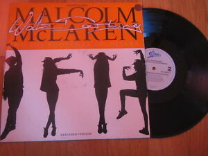 "a3 12"" vinyl record MALCOLM MCLAREN AND THE BOOTZILLA ORCHESTRA WALTZ DARLING - Italia - a3 12"" vinyl record MALCOLM MCLAREN AND THE BOOTZILLA ORCHESTRA WALTZ DARLING - Italia"