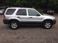 2005 Ford Escape XLT. 4X4 Kitchener / Waterloo Kitchener Area Preview