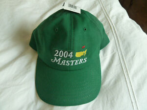 2004 Masters Golf tournament hat. Phil Mickelson's first