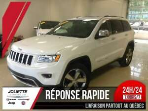 2016 Jeep Grand Cherokee Limited, TOIT, CUIR, 4X4, MAG, FOG