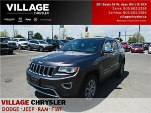 2016 Jeep Grand Cherokee Limited Luxury PKG Panoroof NAV Leather