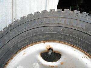 Studded snow truck tires/rims - Nokian Hakkapeliitta LT245/75/16 Kawartha Lakes Peterborough Area image 7